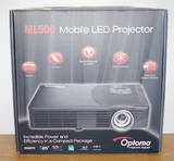 Optoma Ml500 LED Dlp Mobile Projector - #proyektor mini dari Optoma