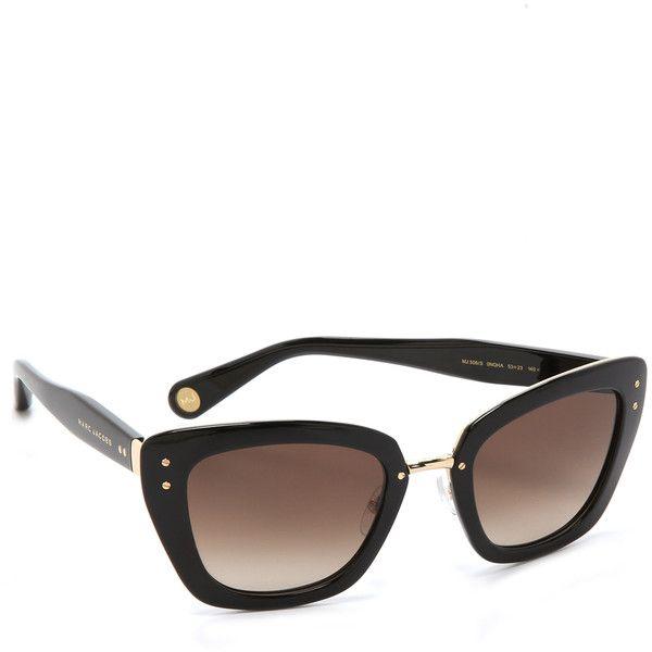 Marc Jacobs Sunglasses Thick Frame Sunglasses $420