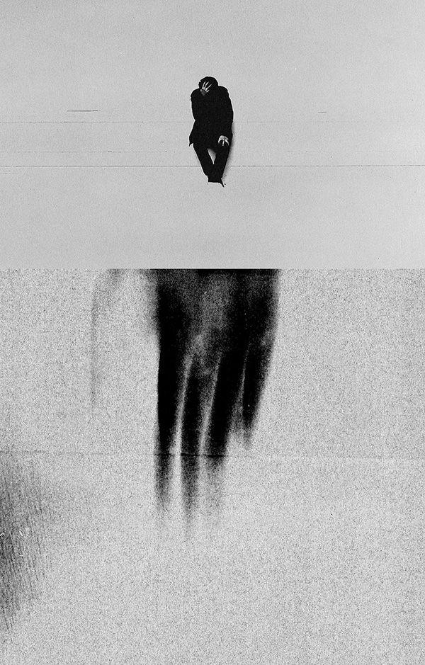 Grainy, high contrast photo manipulations by Melih Dönmezer