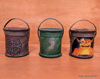 Foster Leathercraft: Dice Cup Trilogy