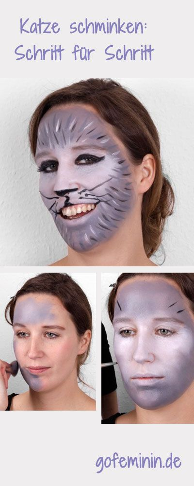 ber ideen zu katze schminken auf pinterest karneval 2015 indianer schminken und. Black Bedroom Furniture Sets. Home Design Ideas