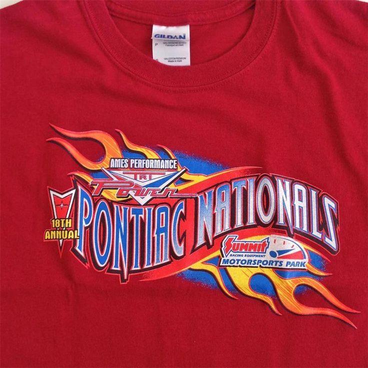 18th Annual Tri Power Pontiac Nationals Small Shirt - Norwalk Ohio #GildanUltraCotton #GraphicTee