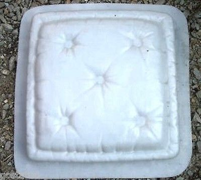 Pillow stepping stone mould mold heavy duty plastic mold 2 for 2 thick granite