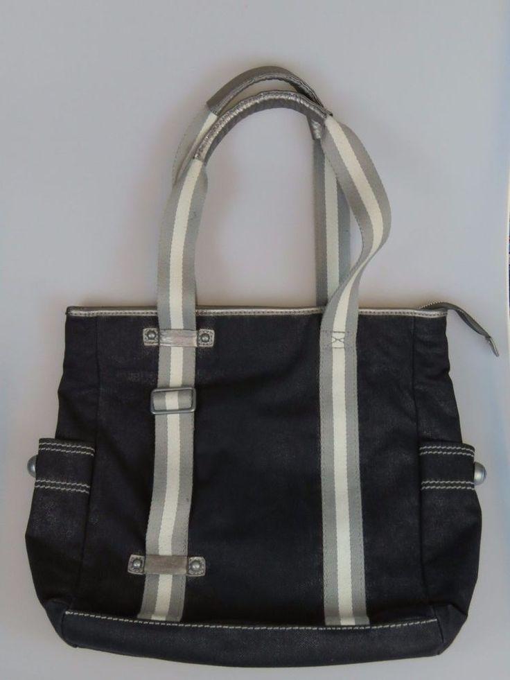 GAP 1969 Jeans Denim Purse Large Handbag Gym Diaper Bag  #GAP #ShoulderBag