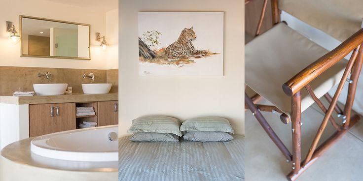 Master Bedroom details   Lethabo Safari Lodge   Limpopo Luxury