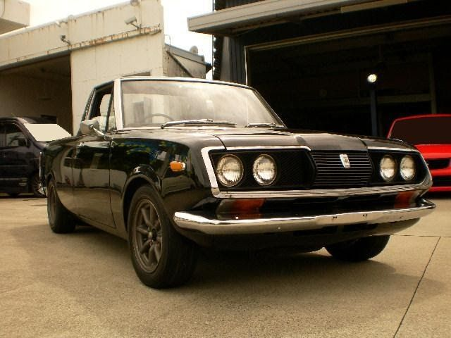 Car : 1974 TOYOTA CORONA PICKUP Mileage : 36,000km Exterior : Black Interior : Black Engine : 1.6 Liter Configuration : Right  Hand Driv...
