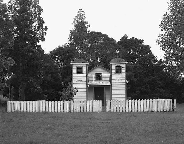 Mangamuka Ratana Church, Hokianga, New Zealand by matthew_comeskey, via Flickr