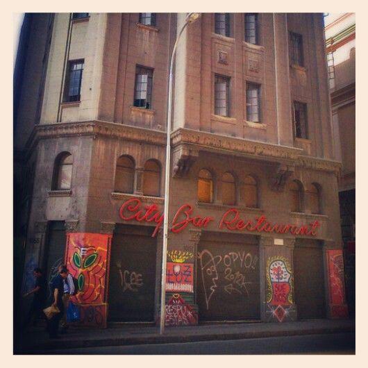ex City bar, calle Compañia