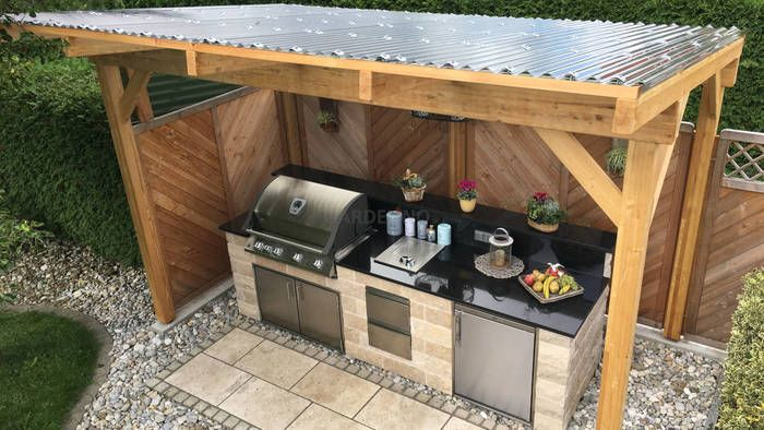 Die Outdoor Kuche Ein Ratgeber Outdoor Kuche Outdoor Grill Kuche Outdoor Kuchen Ideen