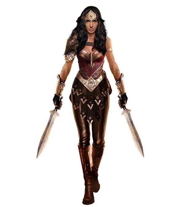 Wonder Woman Gal Gadot Concept Art Fan Made Png 600 675 Wonder Woman Fan Art Gal Gadot Wonder Woman Super Hero Outfits