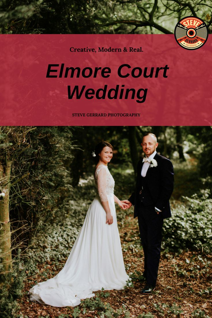 Wedding photography from Beth & Richard's relaxed wedding ceremony at the beautiful Elmore Court wedding venue in Gloucestershire, England. The gorgeous house is easily one of my favourite wedding reception locations in the UK! #elmorecourt