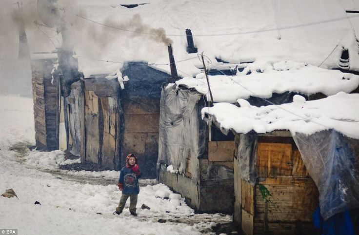 Romanian gypsies living in condemned ghetto which mayor built wall around | Mail Online