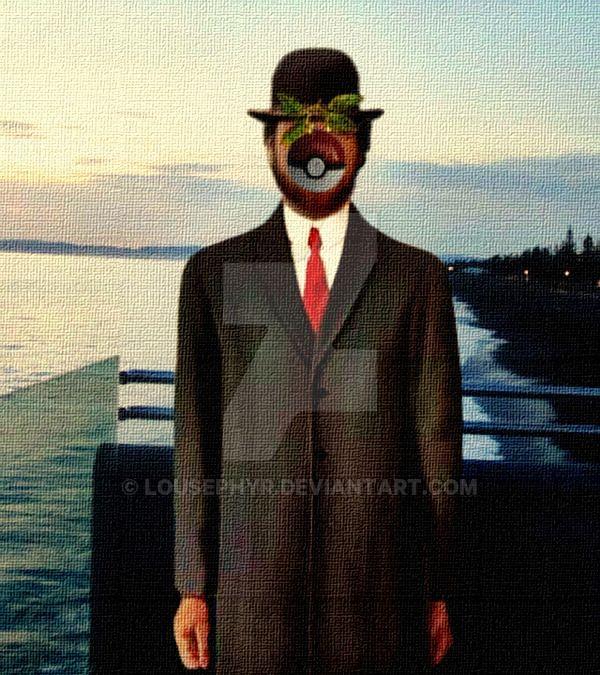 PokeMon Magritte..Parody by lousephyr.deviantart.com on @DeviantArt