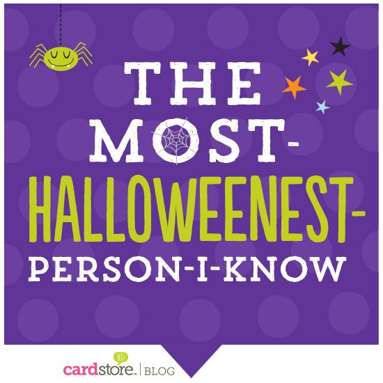 A virtual high-five for people who LOVE Halloween {share it} | Cardstore Blog
