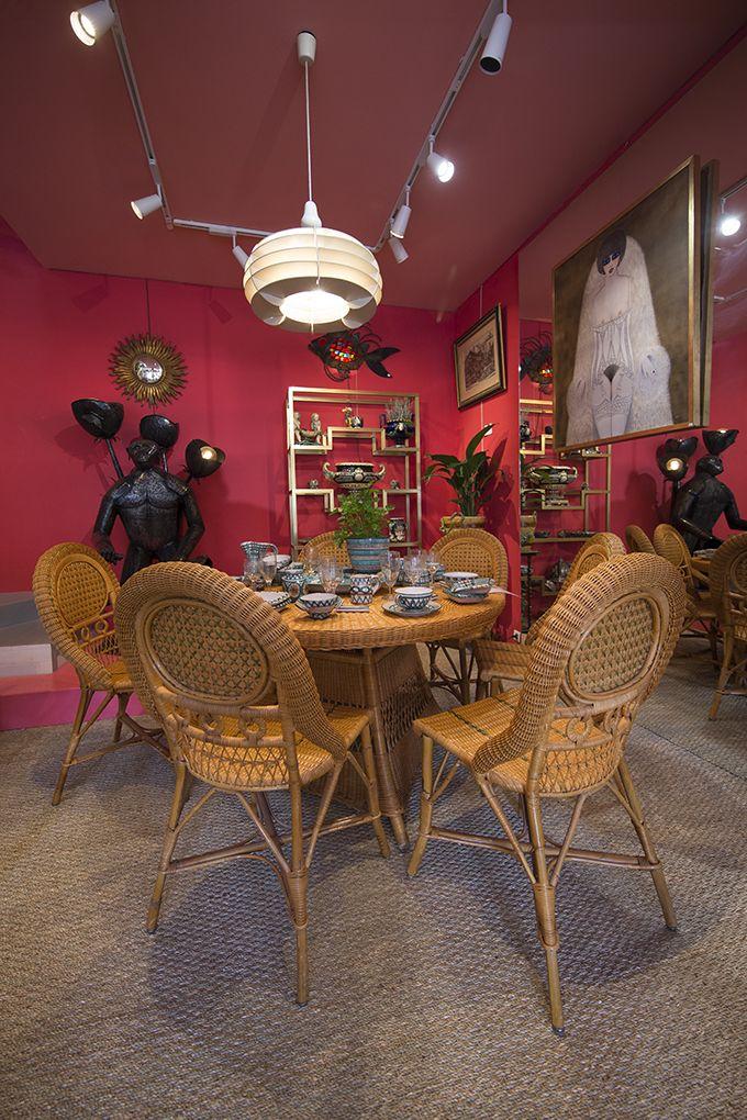 Les 25 meilleures id es de la cat gorie chaises en rotin for Table et chaise en osier