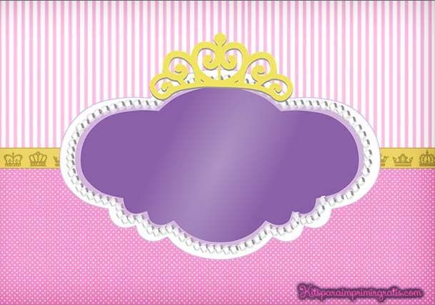 Sofia The First Carriage Paper Craft