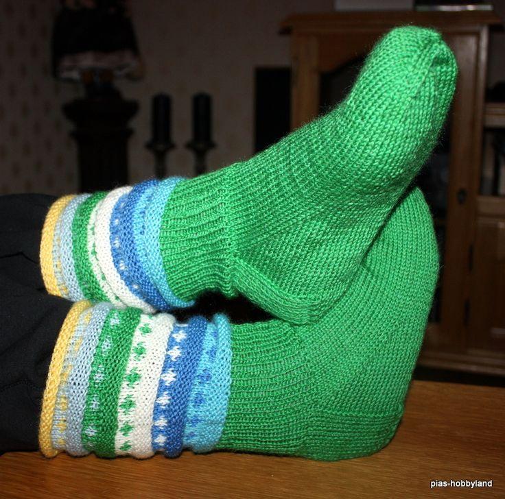 regnbuesokker socks sokker