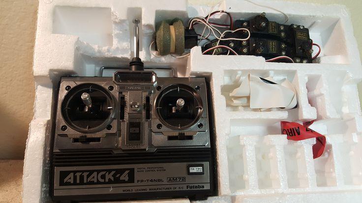 Futaba Attack-4 digital RC controller FP-4NBL