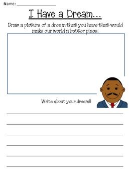 Martin Luther King Jr. Day Fun Freebie. Items Included:Martin Luther King Jr. Description PageMartin Luther King Jr. Build a StoryI Have a Dream - Narrative WritingMartin Luther King Jr. Fact SheetKWL Graphic Organizer