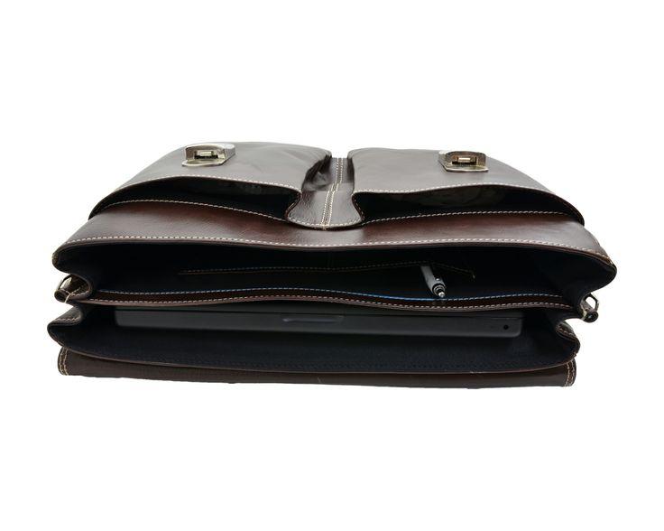 Borsa Diplomatica in pelle uomo colore cuoio #borsa #pelle #uomo #diplomatica