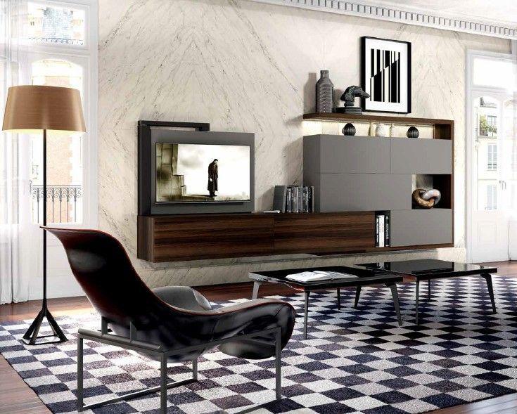 Composizione 502 skyline 2 0 moderno soggiorno