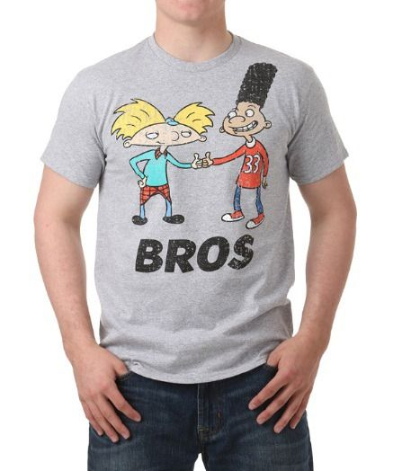 Hey Arnold Bros T-Shirt: This shirt is perfect for any Hey Arnold Bros fan! #TShirts #CustomShirts #BandTees