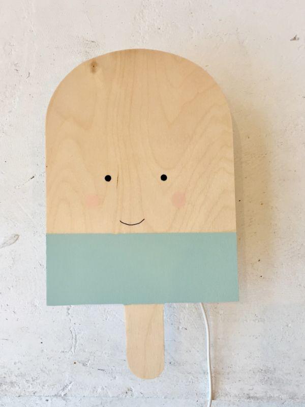 Wandlamp IJsje met gezichtje By June Interiors