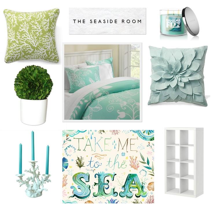 Blue Seaside Decorating Small Apartment Living Room: Best 25+ Seaside Bedroom Ideas On Pinterest