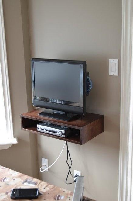 Tv Shelves Ideas best 25+ floating tv shelf ideas on pinterest | floating tv stand