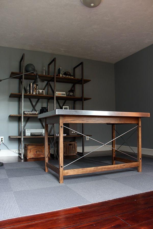 Stainless Steel Desk on Behance