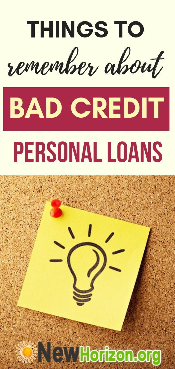 The Truth About Bad Credit Loans No Credit Loans Loans For Bad