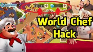 WORLD CHEF HACK UNLIMITED GOLD COINS AND GEMS GENERATOR
