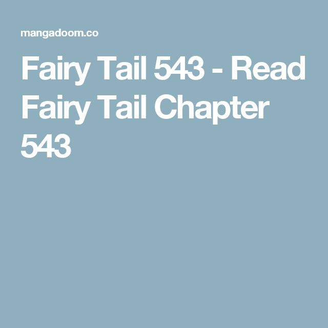 Fairy Tail 543 - Read Fairy Tail Chapter 543