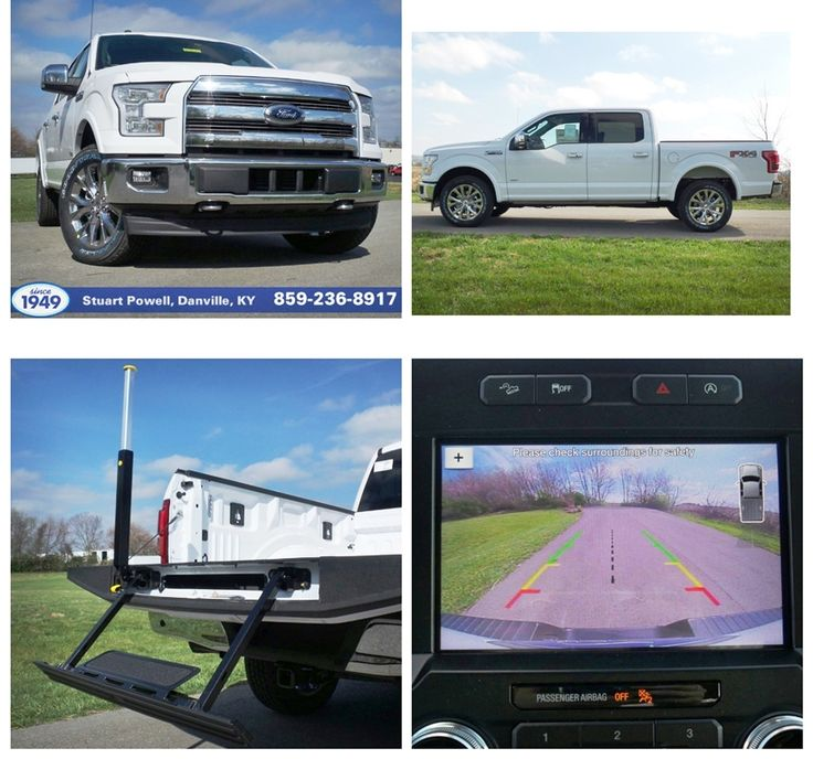 New 2017 Ford F-150 Lariat w/ FX4 off-road pkg, 10-speed auto w/ tow mode, power running boards, pro trailer backup assist, auto start/stop, tailgate step, 36-gal. extended range fuel tank, backup camera, heated/cooled front seats, heated steering wheel, Bluetooth, reverse sensing, universal garage door opener, blind spot info system (BLIS), cross-traffic alert, trailer tow monitoring (BLIS sensor in LED taillamp), Sync, HD radio, 6-month SiriusXM Satellite prepaid subscription. Click for…