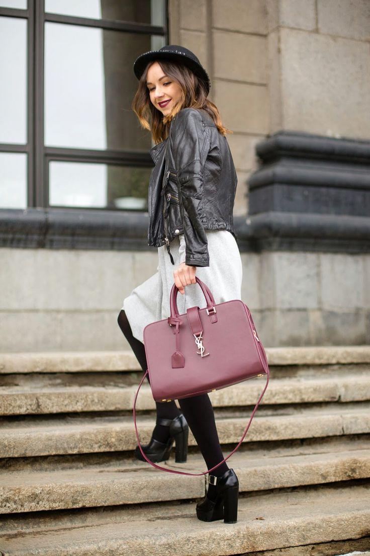 Famous fashion blogger -  Outfit Fashion Zara Street Style Model Blogger Beautiful