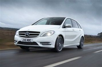 Mercedes-Benz B-Class B200 BlueEfficiency Sport FIRST DRIVE