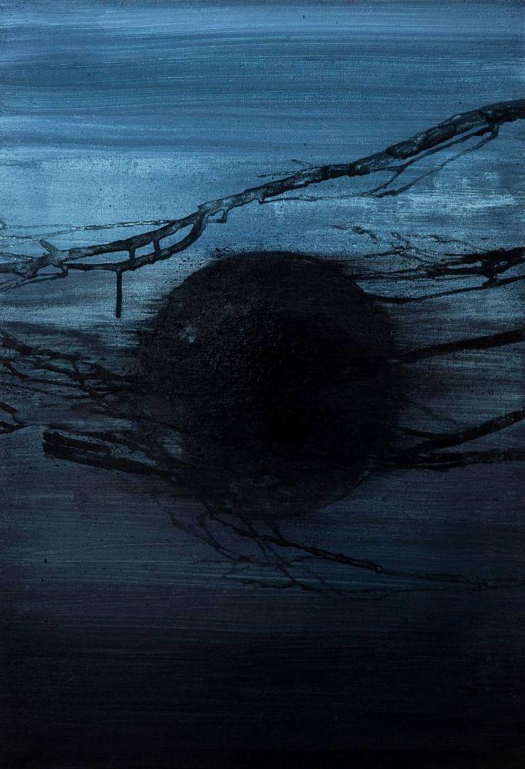 "Saatchi Art Artist Ewa Zwarycz; Painting, ""Lake"" #art"