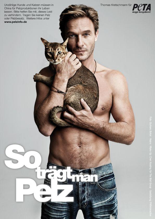Thomas für PETA