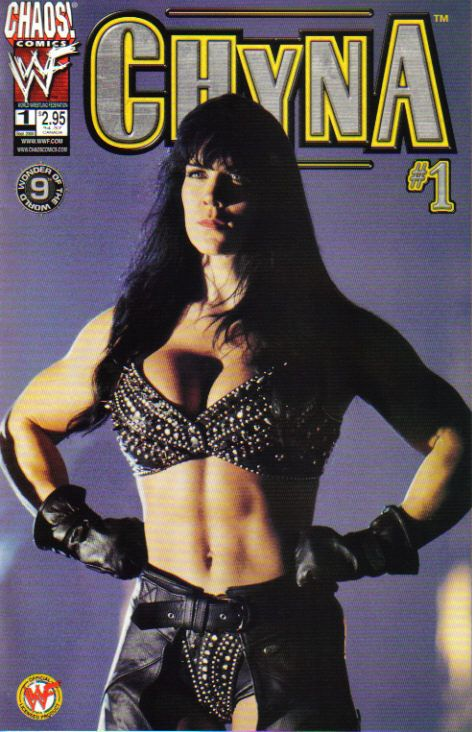 WWE Chyna #1 September 2000 comic book.