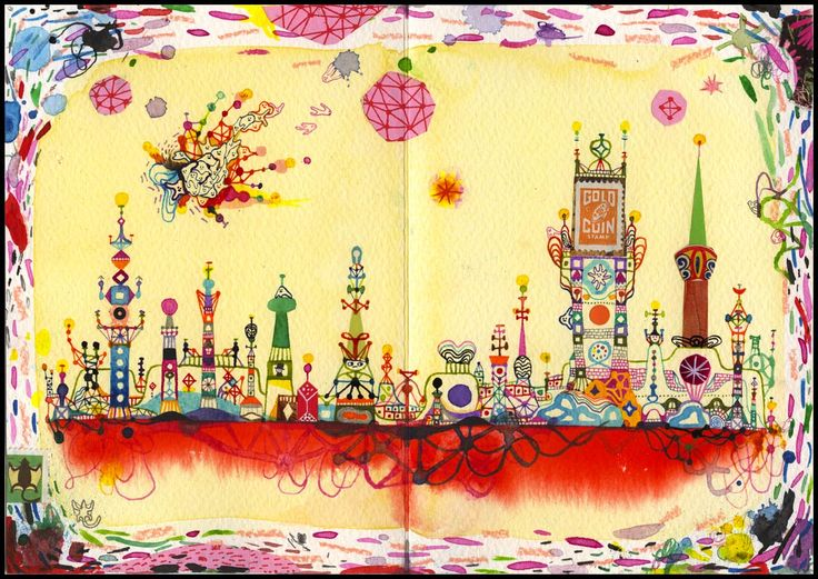 Souther Salazar's scetchbook