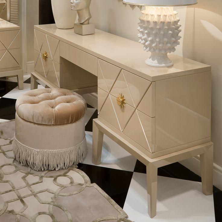 High End Italian Art Deco Dressing Table