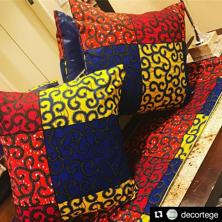 #Repost +Decortege ・・・ We've just restocked one of our favorite combination ankara prints #swipeleft✨ . . . . . . . . . . . . #myblackisbeautiful #blac... - Africa Blooms - Google+
