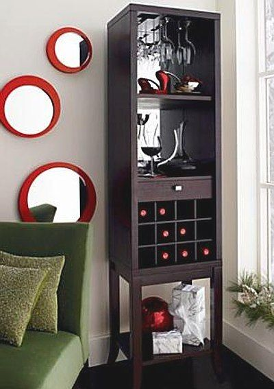 Wine rack. An option for the dining room.