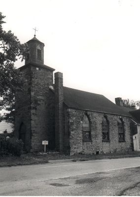 Photograph, Cape Breton Centre for Heritage & Science. 1966  The St. Patrick's Church in Sydney, Nova Scotia. The fist catholic chapel in Sydney built around 1808. Named after the man himself.