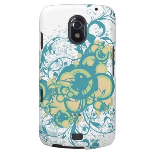 Abstract floral ornaments galaxy nexus cases