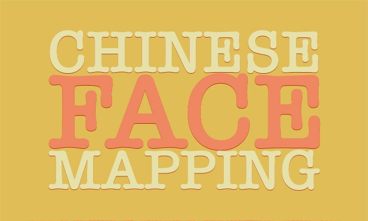 Acne Chinese Face Mapping For Acne [Infographic]...
