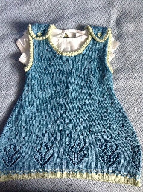 Ravelry: Project Gallery for Tulip Lace Dress pattern by Patons