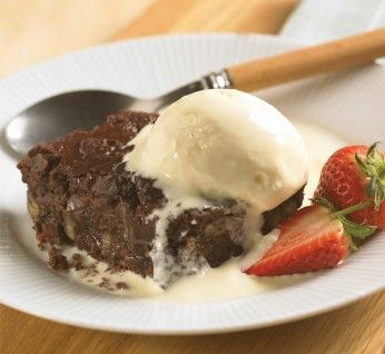 Exploding Chocolate Brownies   Weber® BBQ Recipes