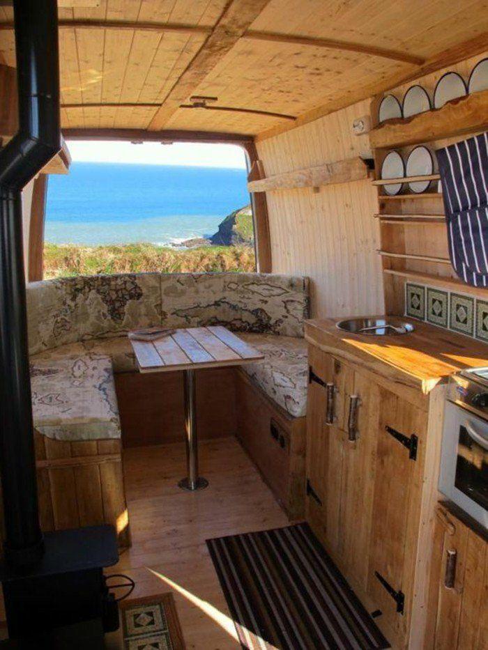les 25 meilleures id es concernant caravanes vintage sur. Black Bedroom Furniture Sets. Home Design Ideas