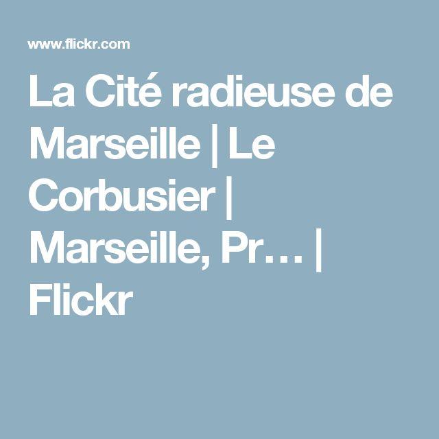 25+ best ideas about cité radieuse de marseille on pinterest | le ... - Ecole De Cuisine Marseille